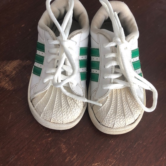 adidas Shoes | Adidas Green Stripe